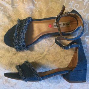 Steve Madden jean sandals